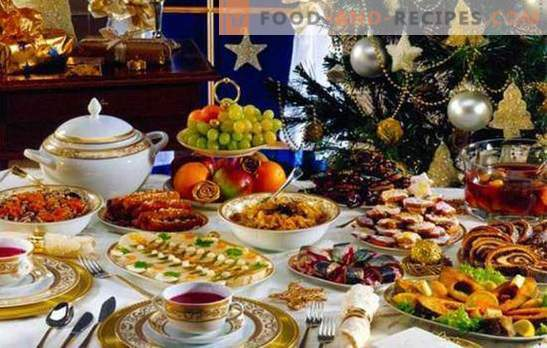 So legen Sie schnell den festlichen Tisch. Optionen für Snacks, die in Minuten zubereitet werden (Foto)