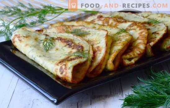 Einfache Rezepte für leckere Zucchini-Pfannkuchen. Wie ...