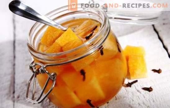 Eingelegte Melone - unerwartete Experimente mit Geschmack. Die besten Rezepte für eingelegte Melone: mit Honig, Kirsche, Ingwer