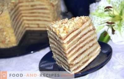 Kuchen in einer Pfanne mit Kondensmilch ist ein Glücksfall! Rezepte für Honig, saure Sahne, Schokolade und Hüttenkäsekuchen in einer Pfanne mit Kondensmilch