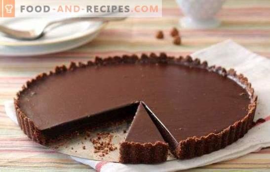 Schokoladenkuchen mit Nüssen ist ein süßes Märchen! Bewährte Rezepte für die leckersten und schmackhaftesten Schokoladenkuchen mit Nüssen