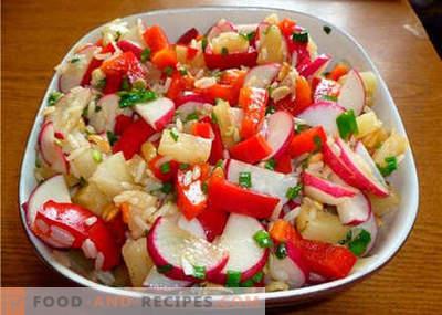 Orientalischer Salat - die besten Rezepte. Wie man richtig und köstlich orientalischen Salat kocht.