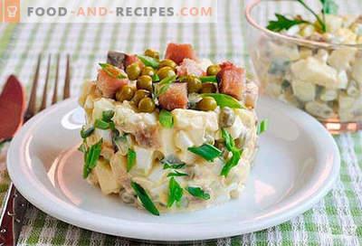 Makrelensalat - die besten Rezepte. Wie man richtig und lecker einen Makrelen-Salat zubereitet.